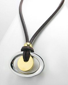 78852410 Collar de Cuero, Acero Inoxidable, (En oferta)