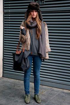 #fauxfur fashion.