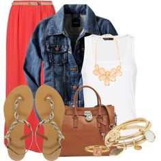 Sweet Summertime by felicia-alexandra on Polyvore