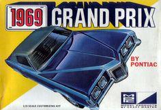 MPC - 1969 Pontiac Grand Prix model kit