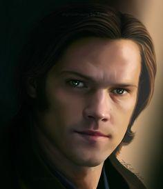 Sam Winchester - glare by TomsGG.deviantart.com on @DeviantArt