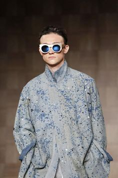 Tillman Lauterbach Menswear, Spring/ Summer 2015, Milan | {I would wear this, if only the price tag weren't prohibitive!}