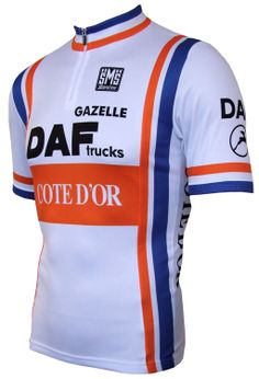 Cote D'Or/DAF Trucks/Gazelle Retro Jersey - Short Sleeve