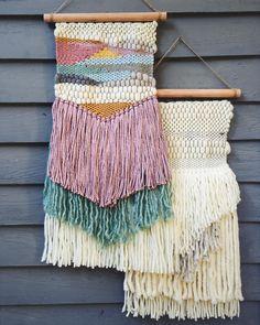 """111 Likes, 12 Comments - Kat King Tapestries (@katkingtapestries) on Instagram: """"My new pretties with my new yarn! So in loveeeee ❤️ #katkingtapestries #weaverfever #weaveweird…"""""""