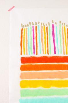 Birthday Cake Posters Art Prints : Happy Birthday Posters on Pinterest Cupcake Vector ...