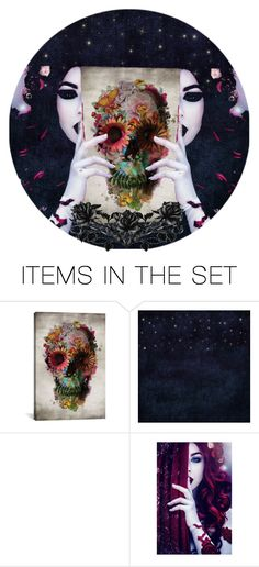 """""""Dark Arts Set"""" by lustydame ❤ liked on Polyvore featuring art"""