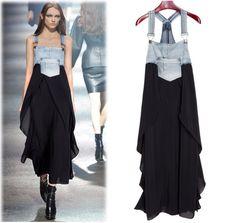 Dress from kombeza and skirts / dresses Diy / SECOND STREET