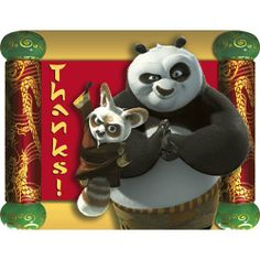Kung Fu Panda Thank You Notes 8ct Factory Card and Party Outlet,http://www.amazon.com/dp/B0018A2YTG/ref=cm_sw_r_pi_dp_OQQBtb08M9MWVH7Q