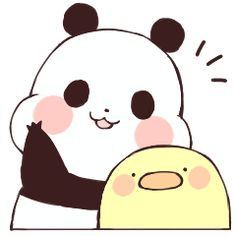 Find images and videos about kawaii, transparent and yururin panda on We Heart It - the app to get lost in what you love. Cute Panda Cartoon, Cute Cartoon Images, Chibi Panda, Panda Bear, Cute Animal Drawings, Cute Drawings, Panda Icon, Panda Drawing, Baby Hamster