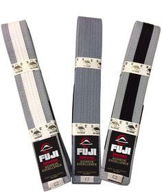 Fuji IBJJF Approved Kids Grey-White Grey or Grey-Black Belts