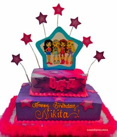 Bratz birthday cake ideas A few other cool Bratz cakes Recipes