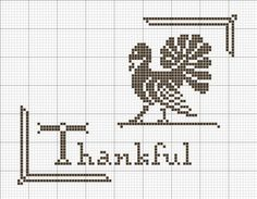 The Best FREE Crafts Articles: Thanksgiving Holiday Cross-Stitch Patterns By Betty Dekat of primitivebettys