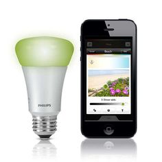 Philips HUE : des ampoules connectées à LED pour léclairage domestique