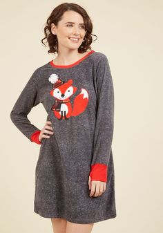 While this fleece nightgown is cozy enough to coax you into 38b10e144