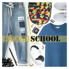 """YesStyle Polyvore Group "" Show us your YesStyle """" by pokadoll ❤ liked on Polyvore featuring Pentel, BackToSchool, outfit and yesstyle"