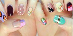 Pretty Artistic Nail Art – wanaabeehere Simple Nail Art Designs, Toe Nail Designs, Simple Art, Simple Toe Nails, Summer Toe Nails, New Nail Art, Easy Nail Art, Easy Art, Lily Nails