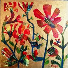 Red Flower by Este MacLeod