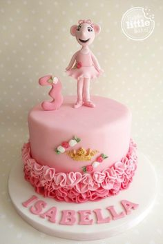likes · 2 talking about this. Making cakes and sweet treats for fun! Girlie Birthday Cakes, Ballet Birthday Cakes, Ballerina Birthday Parties, Ballerina Cakes, Ballerina Party, Angelina Ballerina, Baby Shower Sweets, Family Cake, Girl Cakes