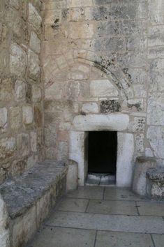 "Entrance to the ""Church of the Nativity."" Bethlehem"