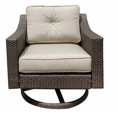 Tampa Swivel Rocker Club Chair with Cushion