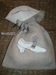 Bolsito con zapato