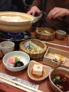 Tofu in Kyoto