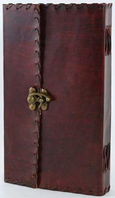 1842 Poetry Leather Blank Book Extra Large Love this book. LD    #MormonLink.com