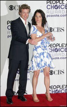 Simon Baker et Robin Tunney à Los Angeles en 2009 pour la cérémonie des People's Choice Awards.
