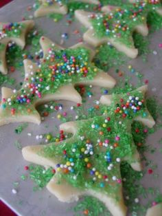 A sugar cookie very similar to our family recipe