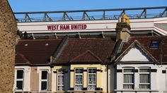 West Ham's Boleyn Ground is set in residential east London