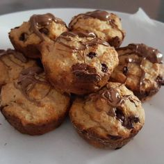 Chocolate & Banana Muffins Perfect To Bake And Freeze, The Healthy Mummy Healthy Mummy Recipes, Healthy Sweets, Healthy Baking, Baking Recipes, Healthy Snacks, Dessert Recipes, Healthy Banana Muffins, Chocolate Banana Muffins, Freeze Muffins