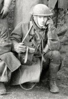 WW1 Field telephone