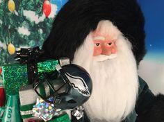 Philadelphia Eagles Santa Claus