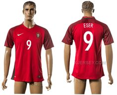 http://www.xjersey.com/portugal-9-eser-home-euro-2016-thailand-jersey.html PORTUGAL 9 ESER HOME EURO 2016 THAILAND JERSEY Only 33.11€ , Free Shipping!