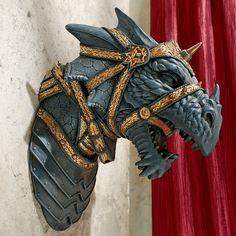 War Dragon Wall Sculpture