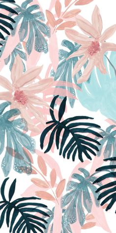 tropical wallpaper desktop Palms is part of Tropical Beach Palm Sky View Wallpaper Wallpapers Com - Pink Spring Casetify iPhone Art Design Floral Flowers Frühling Wallpaper, Spring Wallpaper, Tropical Wallpaper, Watercolor Wallpaper, Homescreen Wallpaper, Iphone Background Wallpaper, Trendy Wallpaper, Walpaper Iphone, Floral Wallpaper Iphone