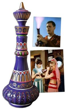 Genie Bottle From ''I Dream of Jeannie'' -- Incredibly Scarce Prop From Iconic TV Show