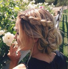 hair inspo lauren conrad braid updo bun