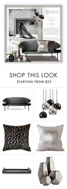 """""""Enjoy this Moment"""" by sapora ❤ liked on Polyvore featuring interior, interiors, interior design, home, home decor, interior decorating, MOROSO, Regina-Andrew Design, Lance Wovens and Ginger Brown"""