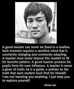 Bruce Lee - Kru - words of wisdom K1 Kickboxing, Cool Words, Wise Words, Wisdom Quotes, Life Quotes, Martial Arts Quotes, Bruce Lee Quotes, Ju Jitsu, Motivational Quotes