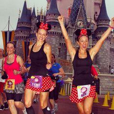 Disney princess half marathon. Minnie Mouse costume. #rundisney