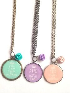 Image of Keep Calm Necklaces Bronze from Bellus Jewellery