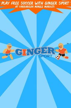 Join us at Yarrabilba Mingle Market! More info: https://www.gingersport.com.au/activities/events/