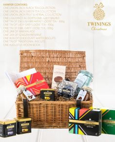 at twinings we love great tea and great confectionery in this twinings hamper we have christmas gift