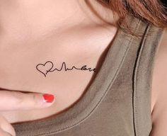 tattoo delicadas femininas de coração - Pesquisa Google