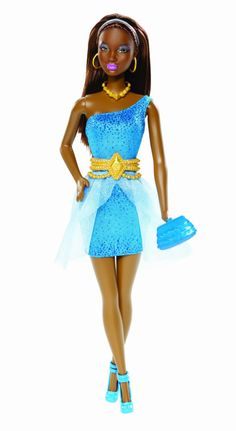 Amazon.com : Barbie So In Style S.I.S Kara Doll : Fashion Dolls : Toys & Games