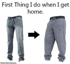 Except in college you can wear them any day, any time :)