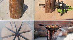 How to cook on a log imgur.com