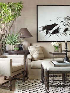 Mix and Chic: Home tour- designer George Massar's  neutral Los Angeles home!