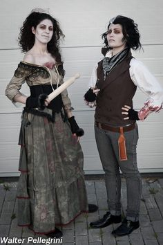 Mrs Lovett & Sweeney Todd - The King and Queen of Fleet Street by TizzyCosplay.deviantart.com